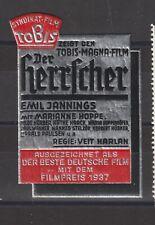 German Poster Stamp Film 1937