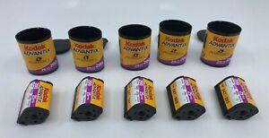 Kodak Advantix 200 Speed Film 25 Expired 5 Roll Lot Vintage UnUsed