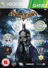 Xbox 360 : Batman: Arkham Asylum - Classics (Xbox 3 VideoGames