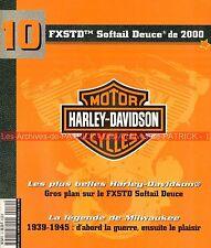 HARLEY DAVIDSON FXSTD 1450 Softail Deuce 2000 Milwaukee HD 1939-45 WW2 Histoire