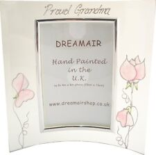 Proud Grandparents sweet pea picture frame