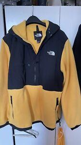 North Face Denali Fleece XXL Popover Black / Yellow