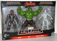 "Marvel Legends Infinite Series Avengers Collectors Edition Ultron Hulk Vision 6"""