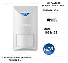 Rilevatore a Doppia Tecnologia Antifurto Sensore Volumetrico Allarme Urmet 1033