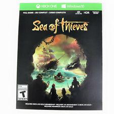 Sea of Thieves Full Game DIGITAL CODE CARD Microsoft Xbox One / Windows 10 PC