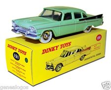 DISPONIBLE DINKY TOYS ATLAS DODGE ROYAL SEDAN BICOLORE 1/43 REF 191 IN BOX