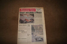 Motoring News 27 May 1971 F1 March 711 Cutaway Monaco GP Indy Qualifying Alpine