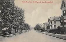 Ninth Avenue East of Hollywood East Orange New Jersey 1910c postcard