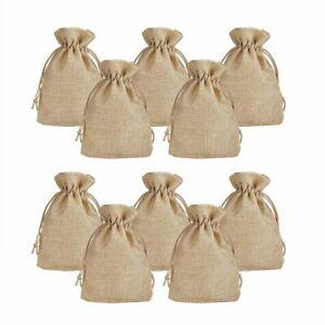 Jute Linen Bag Return Gifts Bags,Pouches Potlis Drawstring Bags