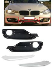 BMW F30 F31 3 Series SPORT12-15 Front Bumper Grilles +Moulding Strips Left+Right
