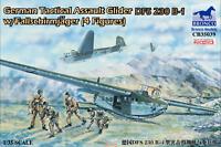 Bronco 1/35 CB35039 German Tactical Assault Glider DFS 230 B-1 w/Fallschirmjäger