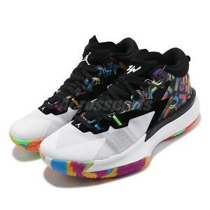 Nike Jordan Zion 1 PF Noah Williamson Black White Multi Men Shoes DA3129-001