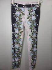 BEC & BRIDGE black white Floral print Skinny leg Jeans sz 6
