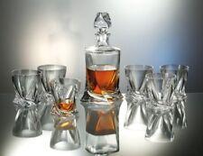 Bohemia Whisky Set 6 Whiskey Gläser + Karaffe Bleikristall Whiskygläser #802399
