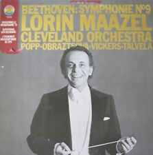 CLEVELAND ORCHESTRA - LORIN MAAZEL - BEETHOVEN -  LP