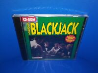 Wizard Works Windows Blackjack PC CD-ROM - BRAND NEW! A502