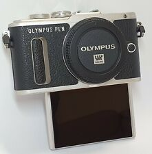 Olympus PEN E-PL8 16.1MP Digital Camera - Black (Body Only) **1442 SHOTS**