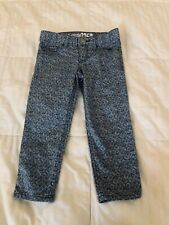 Gap Kids 1969 Girl Super Skinny Jean Capri's size 5 reg w/adjustable straps S17A