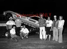 "John ""Brute"" Force 1979 ""Wendy's"" Corvette NITRO Funny Car & Laurie PHOTO! #(11)"