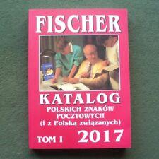 FISCHER 2017 - Poland catalogue of stamps -- Polen Briefmarken Katalog catalog