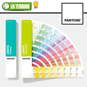 PANTONE CMYK GUIDE SET Coated & Uncoated GP5101A- OFFICIAL campionario mazzetta