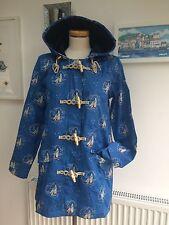 Seasalt Long Seafolly Raincoat - Tacking Cornish - UK10 - Sales Sample SAVE!!