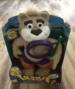 Mattel Gettin Wet Talking Bubba 1999 - NEW IN BOX / Collectible Snorkeling Bear