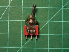 Toggle Switch, SPDT, Non Illuminated, On-On, 1MS1T1B1M1QE, Panel, 5 A