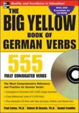 The Big Yellow Book of German Verbs, w. CD-ROM: 555 Fully Conjugated Verbs Big