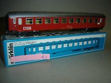 #1048 - MÄRKLIN H0 4045 - D-Zug-Wagen der DSB - TOP-SAMMLUNGSAUFLÖSUNG !