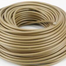 Cable de Conexión para Luces H03VV-F 3x0, 75mm ² Redondo Oro