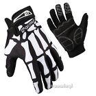 Riding Racing Cycling Bike Bone MTB Bicycle Sport Long Full Finger Gloves M L XL