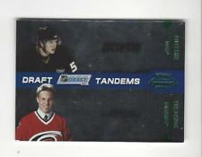 2010-11 Playoff Contenders Draft Tandems Green #19 Bobby Ryan/Jack Johnson /50
