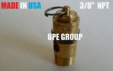 "3/8"" Air Compressor SAFETY RELIEF POP OFF VALVE 200 psi"