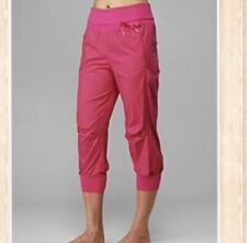 Lululemon Devi Crop Dance Studio Pants Size 4 Pink Rare Discontinued EUC