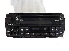 "2002 Dodge Durango Dakota Ram AM-FM Radio CD tape player Code ""RAZ"" P56038555AL"