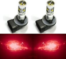 LED 30W 894 H27 Red Two Bulbs Fog Light Replacement Show Use Lamp Off Road