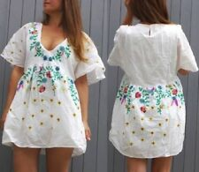 Casual Dresses Kaftan/Beach with Embroidered