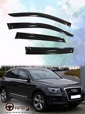 For Audi Q5 08-17 8R Deflector Window Visor Guard Vent Weather Shield Door Visor
