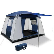 6 Person Family Camping Hiking Dome Tent Bestway - Navy and Grey