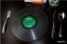 Vinyl Coaster 31cm x 31cm Groovy Record Cup Holder Mat Tableware Placemat 6315
