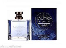 Nautica Voyage N-83 Men Eau de Toilette Spray 3.4oz 100ml * New in Box Sealed *
