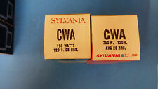 (1 PC) CWA 120V 750 W AVG 25 HRS. PROJECTION LAMP BY SYLVANIA