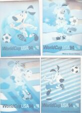 WORLD CUP SOCCER 1994 Upper Deck HOLOGRAM 4 Card SET VG/EX
