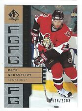 2002/03 SP Authentic Future Greats Petr Schastlivy Rookie Card /2003