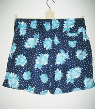 51016e787c Massimo Dutti Floral Mens Blue Swimming Trunks Shorts Size XL 36/38 Inch  Waist