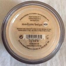 BareMinerals Original SPF15 Foundation Medium Beige N20 Brand New 100% AUTHENTIC