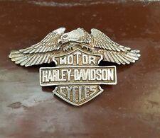 Harley-Davidson Logo - PIN -  |zum anschr. gross |  Jacke | 4 x 7 cm