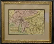 Iohn Luffman, John Luffman / MAP A MAP OF THE COUNTRY ROUND PARIS 1816 #282624