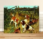 "Arthur Wardle A Good Day In the Field ~ CANVAS PRINT 18x12"" Classic Dog Art"